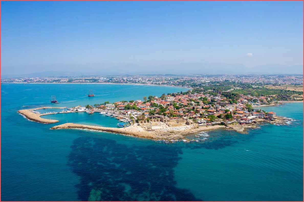السياحة في مدينة سيدا تركيا