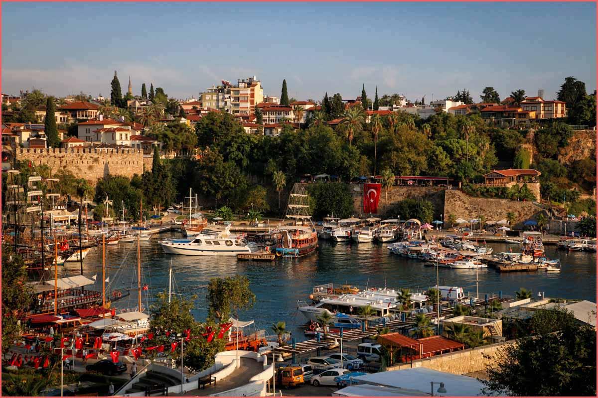 مدينة أنطاليا اجمل مدن تركيا في الصيف