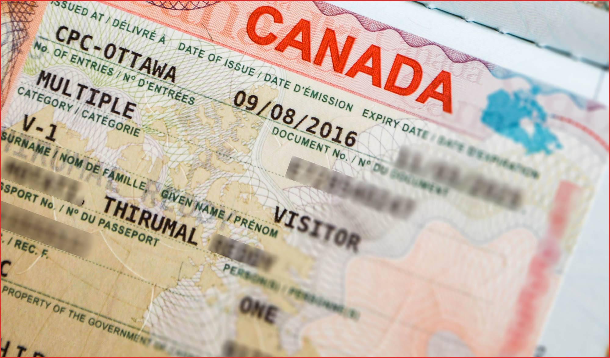 خطوات التقديم على طلب فيزا كندا