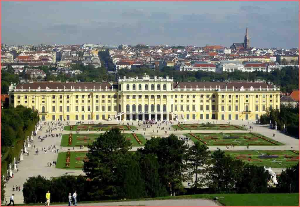 قصر الشونبرون Schonbrunn Palace