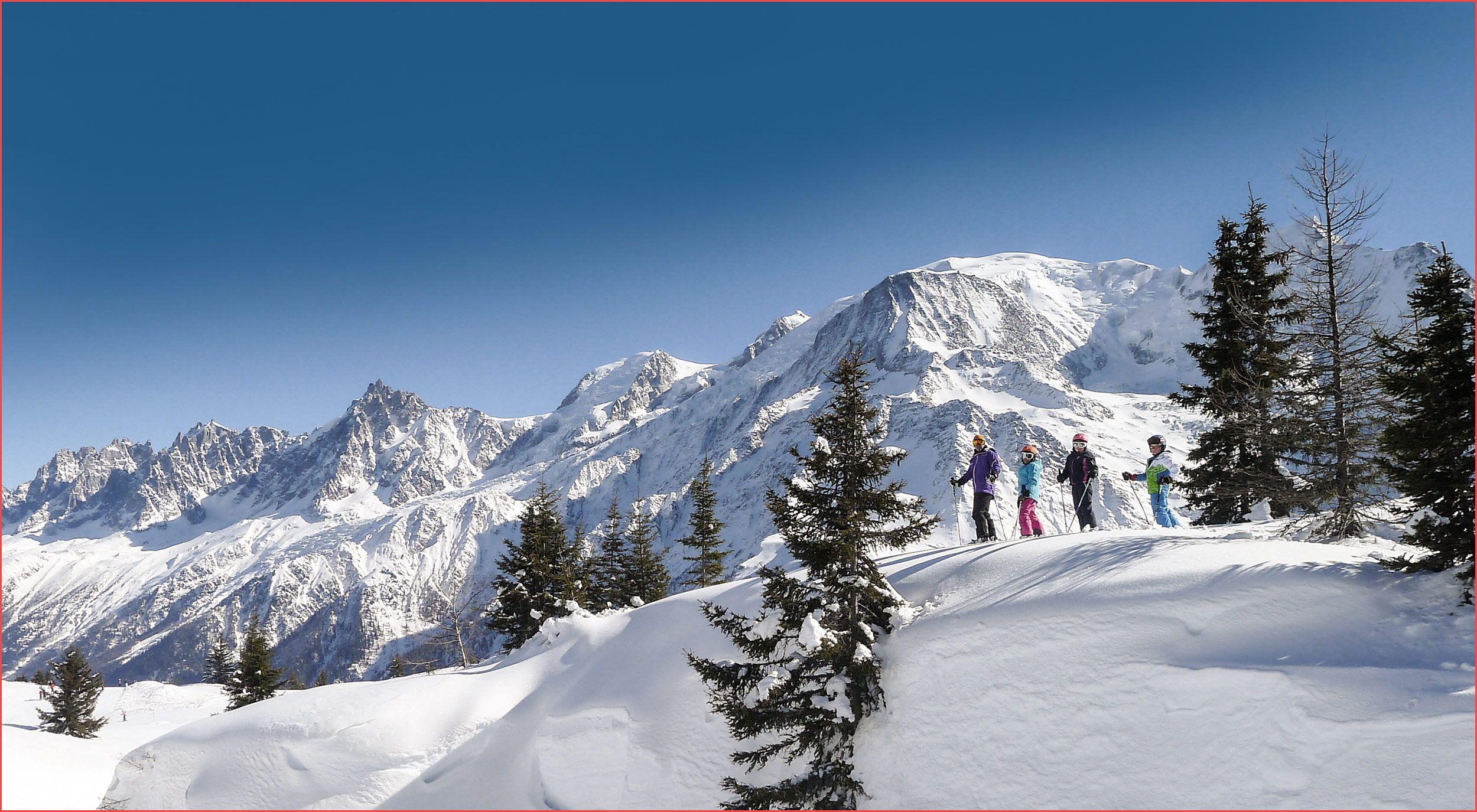 الجبل الأبيض شامونيه فرنسا