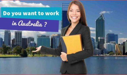 المهن المطلوبة في استراليا 2020/ 2021