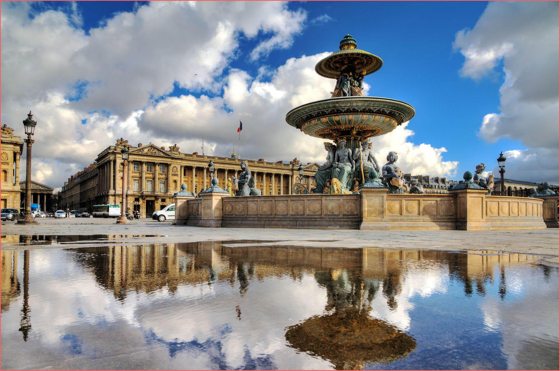 ساحة الكونكورد في فرنسا