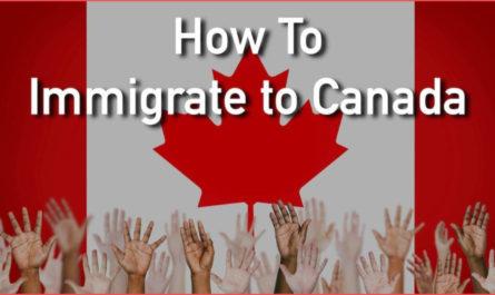 طريقة السفر الى كندا عن طريق (الكفالة الكنسية - المفوضية - إقامة عمل)