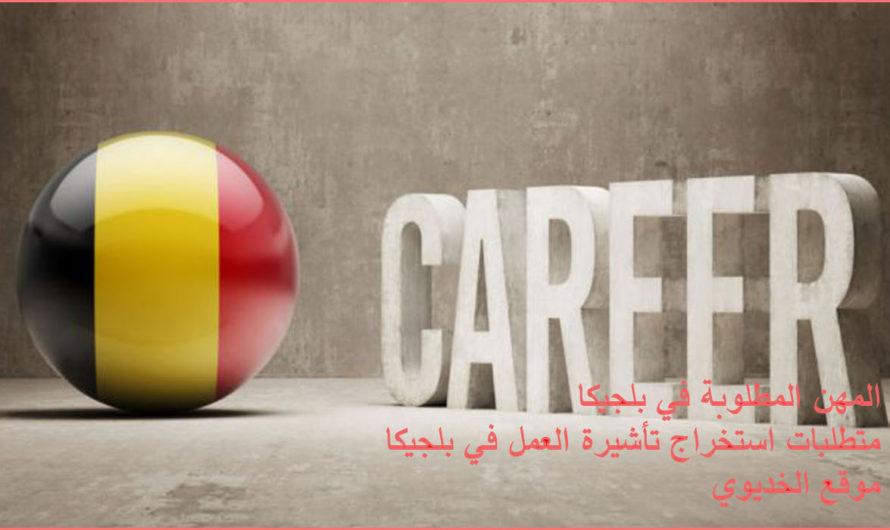 المهن المطلوبة في بلجيكا .. متطلبات استخراج تأشيرة العمل في بلجيكا