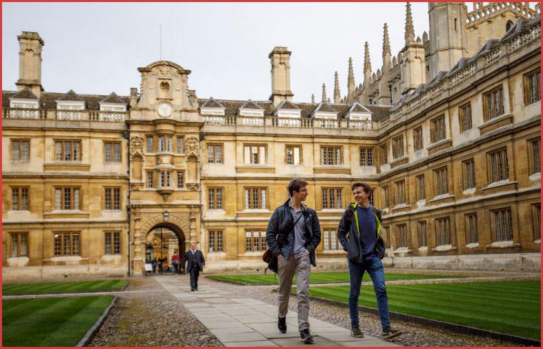 منح جامعة كامبريدج منح دراسية للطلاب الدوليين