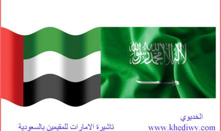تاشيرة الامارات للمقيمين بالسعودية: 6 شروط للحصول على التاشيرة تعرف عليها