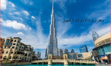 سعر زيارة الامارات 3 شهور .. وما هو الفرق بين إذن الدخول وتأشيرة الإقامة ؟؟